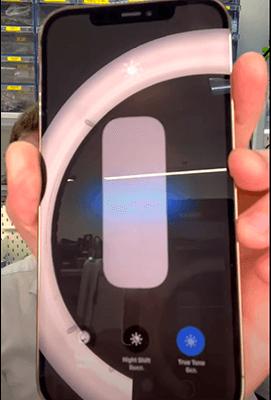 Процесс замены стекла телефона