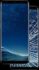 Замена разбитого стекла Samsung и iPhone